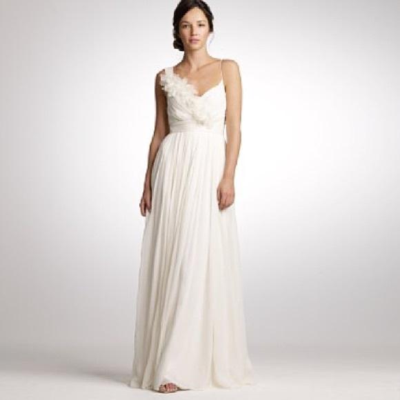 J Crew Wedding Dress.Jcrew Wedding Dress